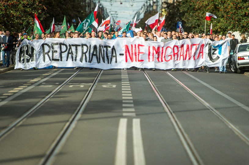 Manifestacja w Bydgoszczy /PAP/Tytus Żmijewski /PAP