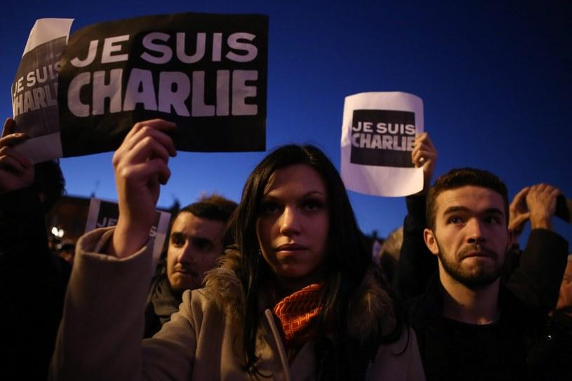 Manifestacja w Paryżu /PAP/EPA