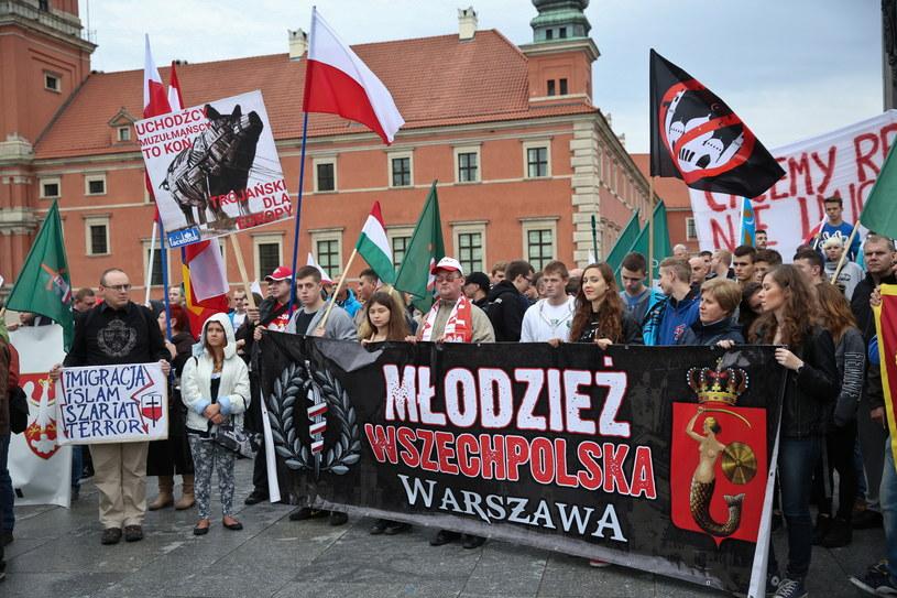 Manifestacja w Warszawie /PAP/Rafał Guz /PAP