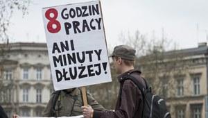 Manifestacje na ulicach polskich miast  z okazji 1 maja