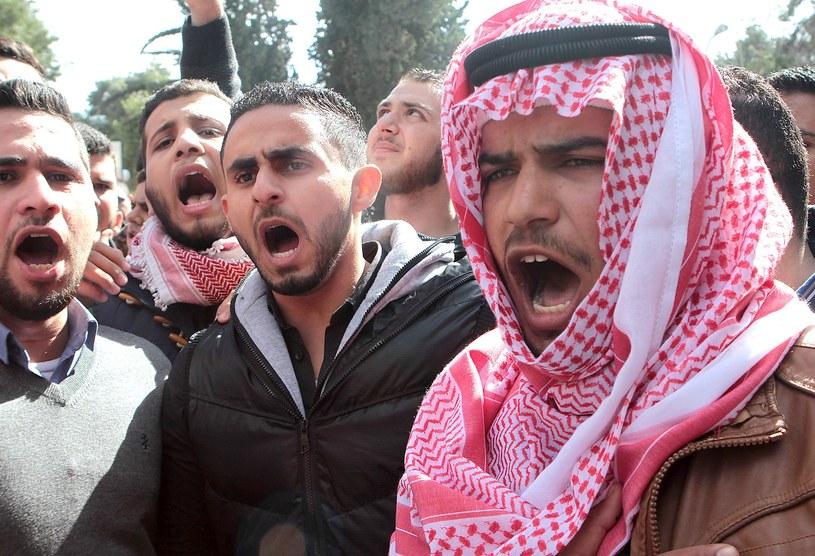 Manifestacje w Jordanii /AFP
