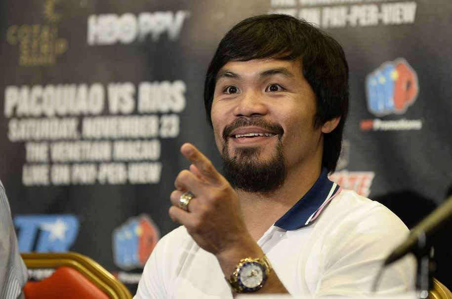 Manny Pacquiao / ANDREW GOMBERT    /PAP/EPA