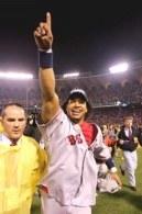 Manny Ramirez, najlepszy zawodnik World Series /AFP