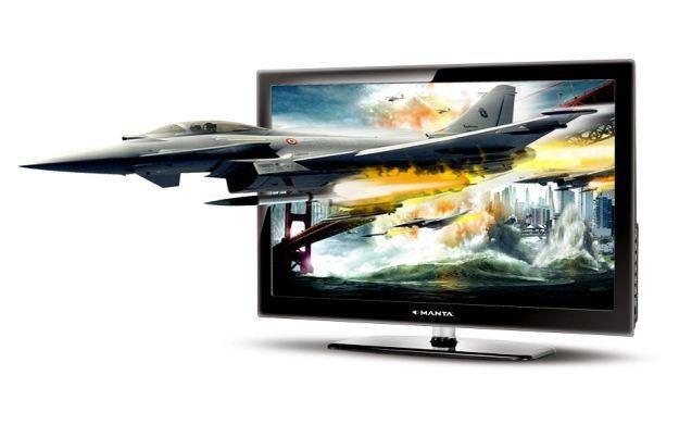 Manta 3D 42' LCD - zdjęcie telewizora /Informacja prasowa