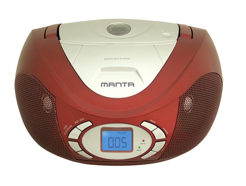 Manta Drop II CD/MP3 Player  Boombox /materiały prasowe