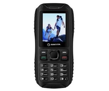 Manta GMS MS2001 Carbon - telefon do zadań specjalnych