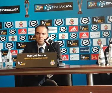 Manuel Junco, dyrektor sportowy Wisły o pozyskanym Ze Manuelu