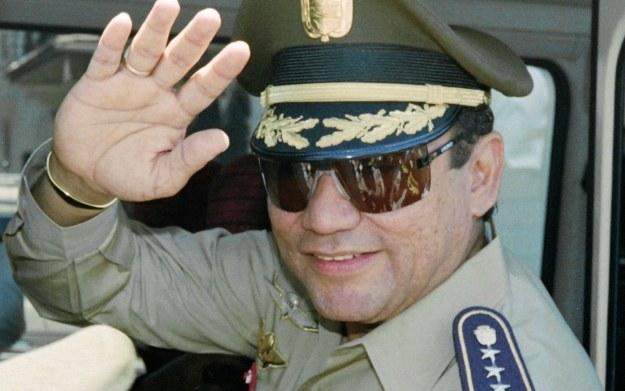 Manuel Noriega - były dyktator Panamy /materiały prasowe