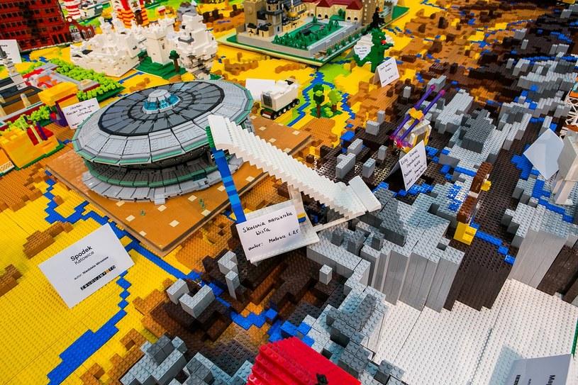 Mapa Polski z klocków LEGO /materiały prasowe