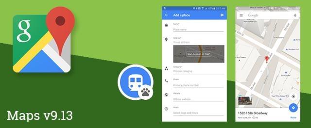 Mapy Google - najnowsza wersja mobilna już do pobrania /materiały prasowe