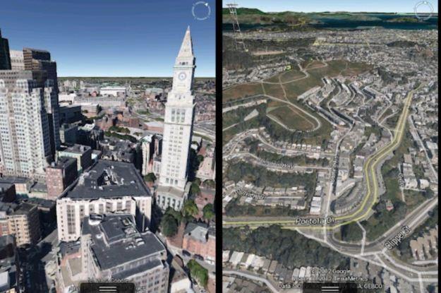 Mapy Google teraz pokażą trójwymiarowe modele (niektórych) miast /Internet