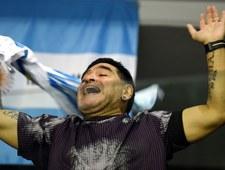 Maradona znowu szokuje. Tym razem... polowaniem