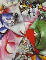 Marc Chagall, Ja i wieś, 1911 /Encyklopedia Internautica
