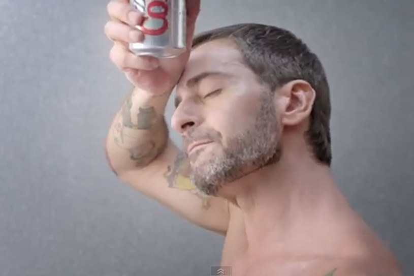 Marc Jacobs w rekalmie Diet Cola /YouTube