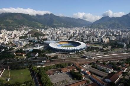 Marcana - legendarny obiekt piłkarski w Brazylii /AFP