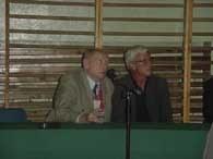 Marcello Lippi (z prawej) na konferencji prasowej /INTERIA.PL