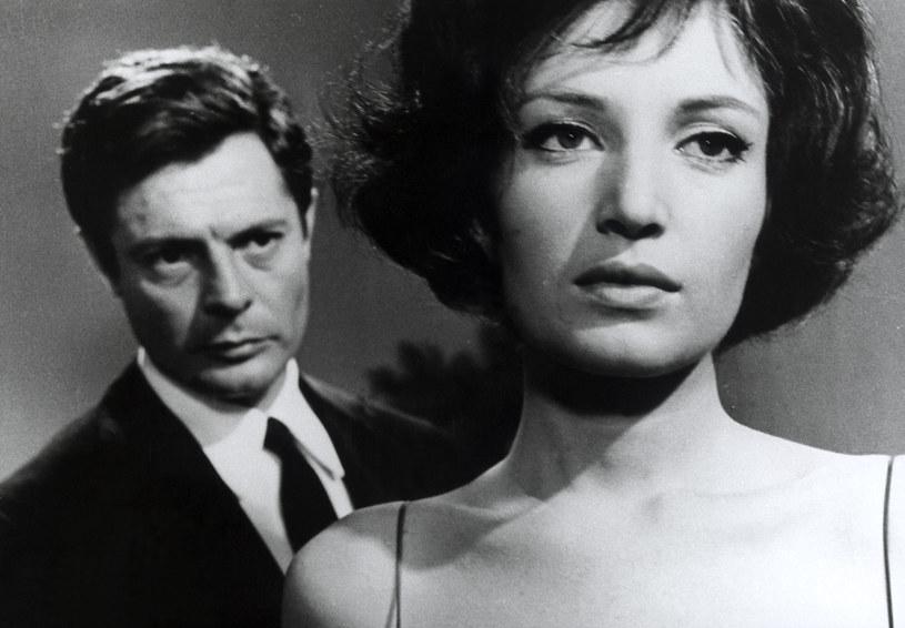 """Marcello Mastroianni i Monica Vitti w filmie Antonioniego """"Noc"""" (1961) /AKPA"""