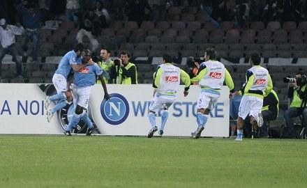 Marcelo Zalayeta strzelił gola, po którym Inter przegrał w Neapolu /AFP
