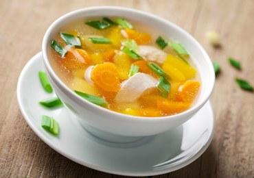 Marchewkowa zupa na mięsie