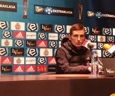 Marcin Brosz po meczu z Wisłą Kraków 3-2 (wideo)