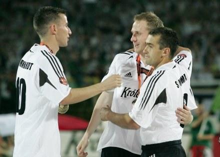 Marcin Burkhardt (z lewej) /Agencja Przegląd Sportowy