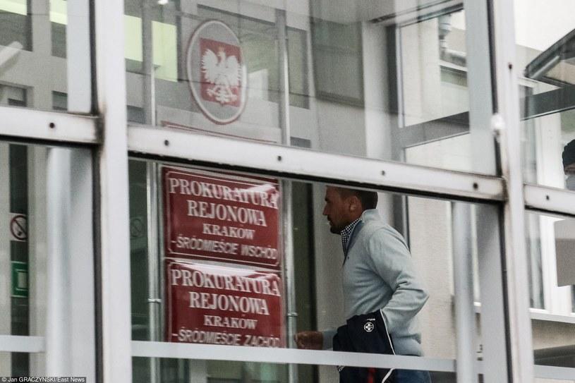 Marcin Dubieniecki doprowadzoy do Sądu w Krakowie /Jan Graczyński /East News