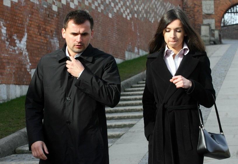 Marcin Dubieniecki i Marta Kaczyńska /Artur Barbarowski /East News