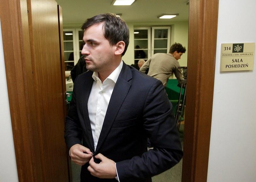 Marcin Dubieniecki pozostanie w areszcie /Jan Dzban /PAP