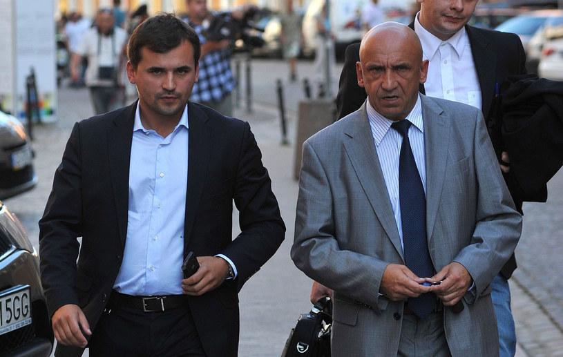 Marcin Dubieniecki z ojcem Markiem Dubienieckim /Wojciech Stróżyk /Reporter