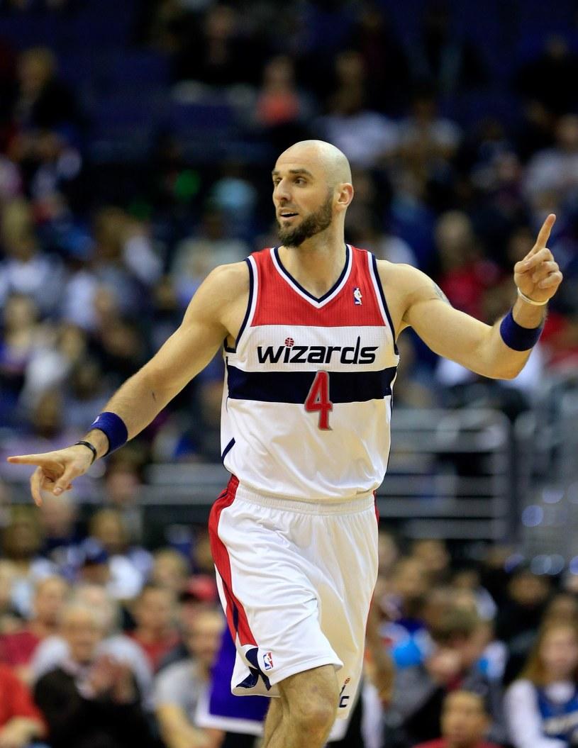 Marcin Gortat, koszykarz Washington Wizards /AFP