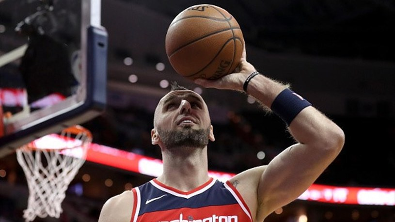 Marcin Gortat, koszykarz Washington Wizards /Getty Images