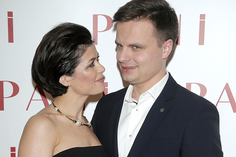 Marcin Hakiel i Katarzyna Cichopek /AKPA