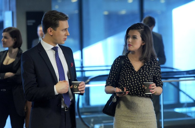 Marcin i Magda spotkają się na szkoleniu dla adwokatów. Marcin jej nie pozna, gdyż schudła 20 kg i zmieniła swój wygląd. /Agencja W. Impact