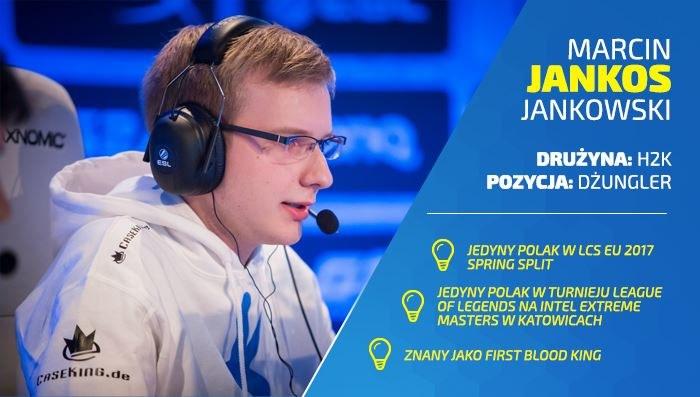 """Marcin """"Jankos"""" Jankowski /materiały źródłowe"""