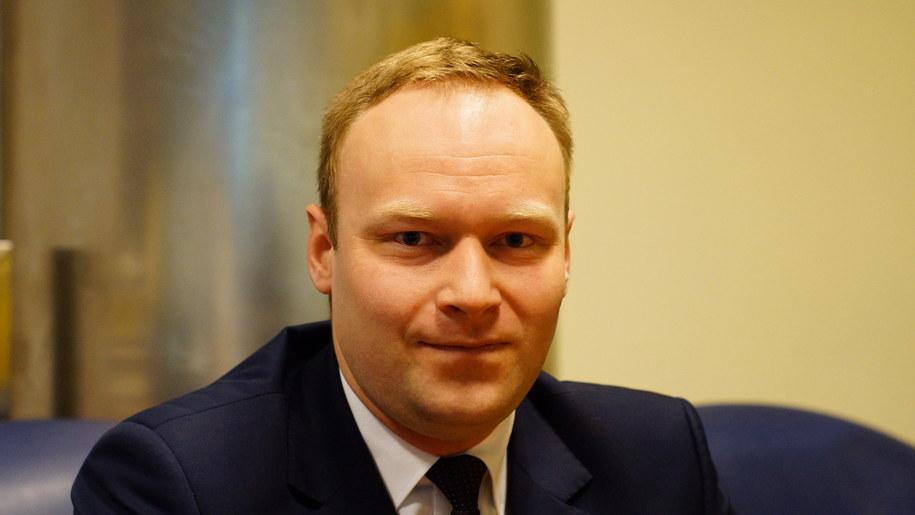 Marcin Mastalerek w warszawskiej redakcji RMF FM /Michał Dukaczewski /RMF FM