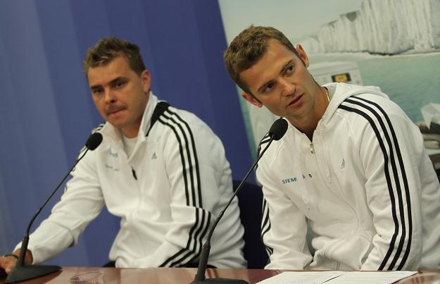 Marcin Matkowski i Mariusz Fyrstenberg Fot. Bartłomiej Zborowski /PAP