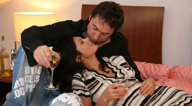 Marcin Miller z żoną, fot. P. Męcik