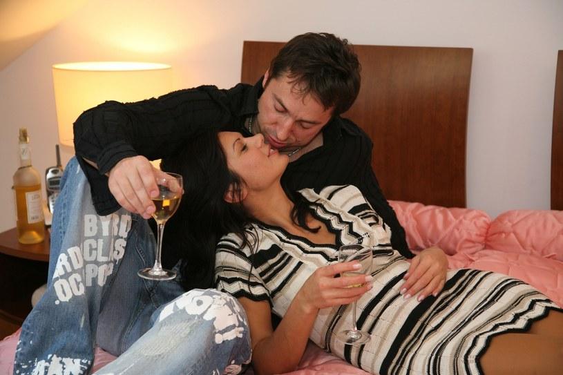 Marcin Miller z żoną /Piotr Mecik /East News