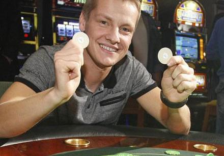Marcin Mroczek nauczył się grać w pokera z... telewizji /AKPA