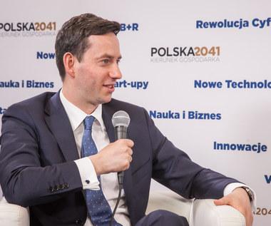 Marcin Ociepa, wiceminister przedsiębiorczości i technologii