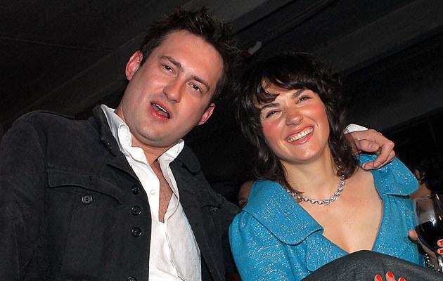 Marcin Prokop z żoną, fot. Andras Szilagyi  /MWMedia