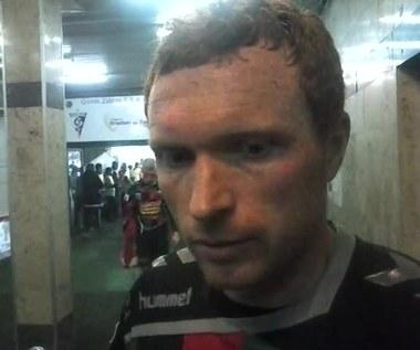 Marcin Radzewicz po meczu z Górnikiem Zabrze