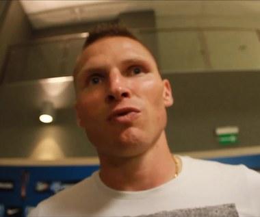 Marcin Robak: Ciśnienie z każdym meczem jest większe. Wideo