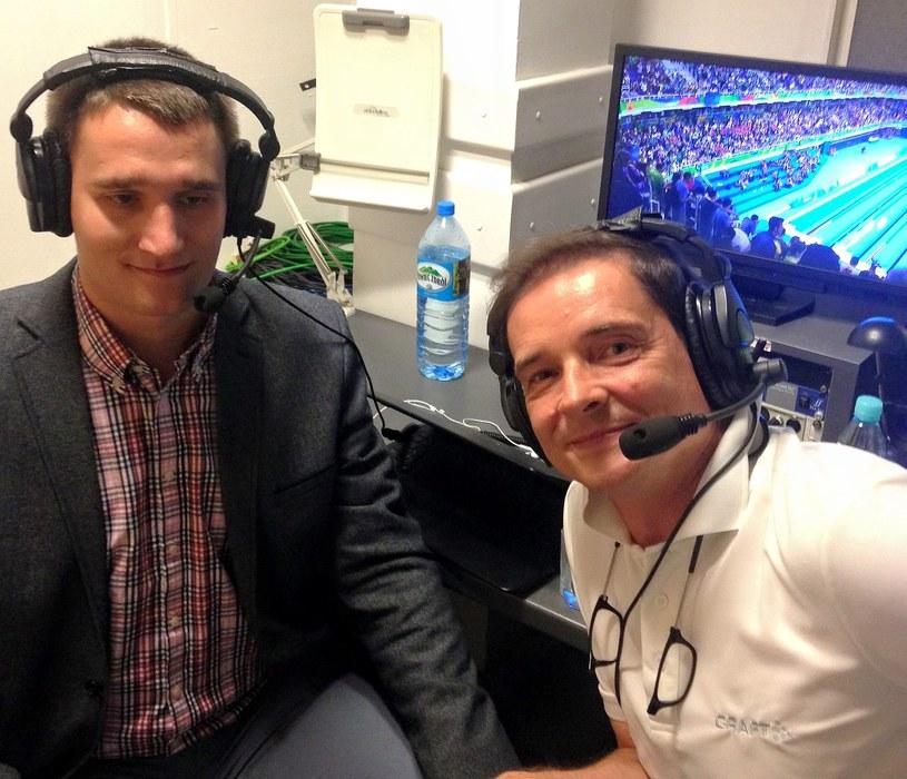 Marcin Ryszka był współkomentatorem podczas igrzysk paraolimpijskich w Rio de Janeiro /archiwum prywatne
