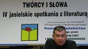 Marcin Świetlicki w bibliotece
