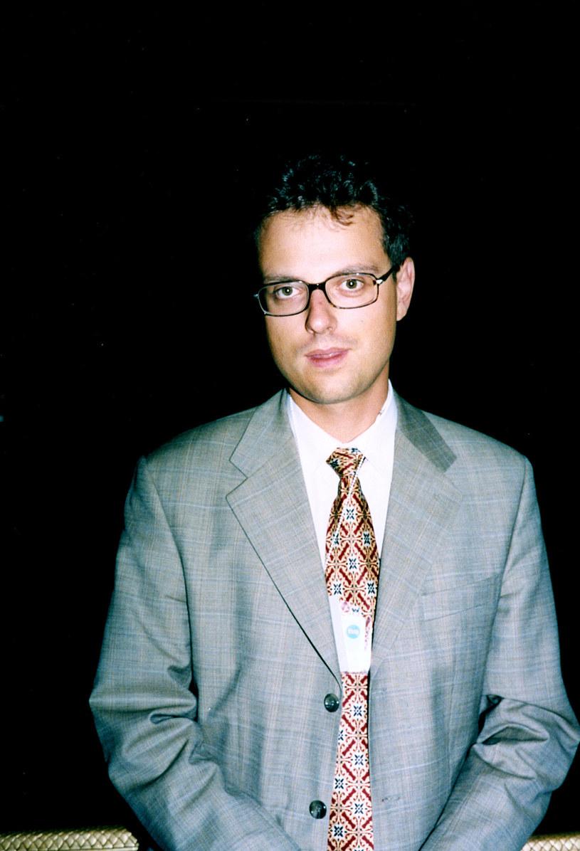 Marcin Wrona w 1998 roku /AKPA