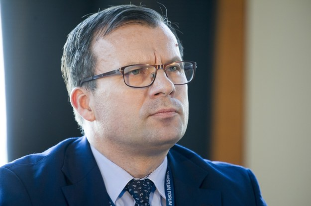 Marcin Zieleniecki, wiceminister pracy. Fot. Wojciech Stróżyk /Reporter