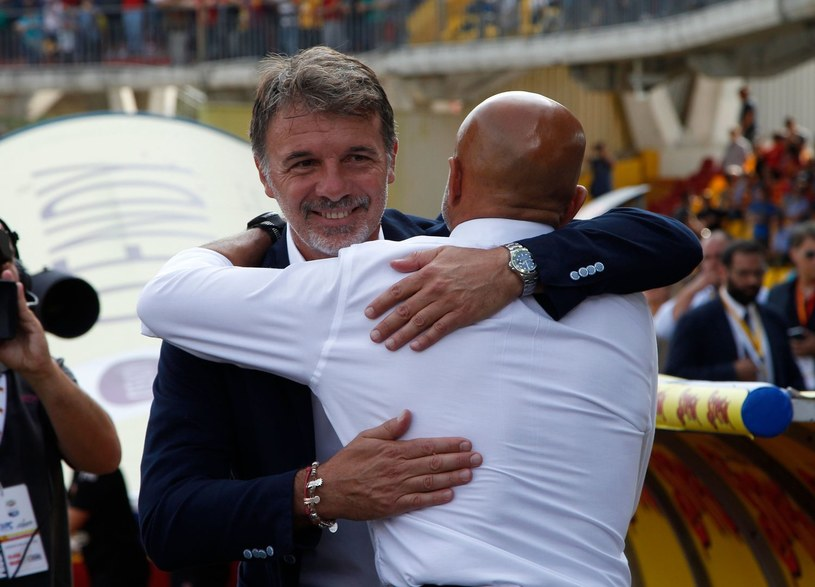 Marco Baroni (z lewej) /AFP