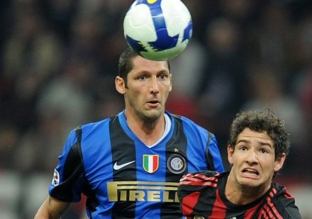 Marco Materazzi (z lewej) /AFP