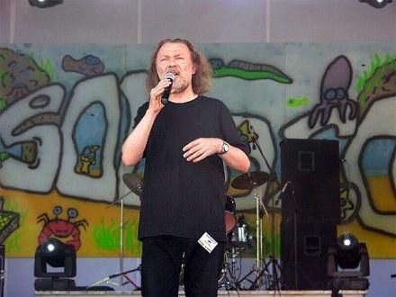 Marek Bałata podczas festiwalu Solideo w 2006 roku /InfoBrzeg.pl